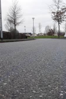 Oliespoor door groot deel wijk Kerkeveld in Wijchen
