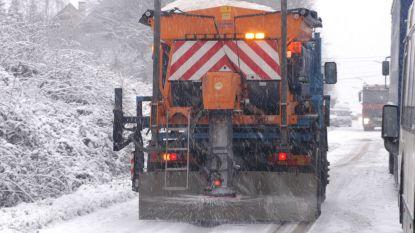 Defecte zoutstrooier wordt vervangen