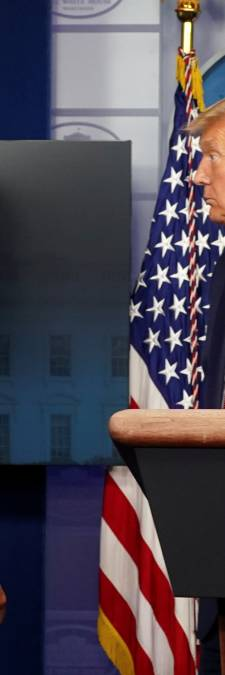 Vent d'inquiétude à la Maison Blanche: Trump évacué par ses gardes du corps en pleine conférence de presse