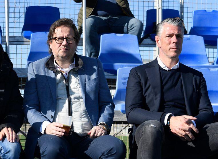 Voorzitter Marc Coucke en Michael Verschueren.