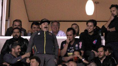 VIDEO. Stoppen slaan door bij Maradona na mislopen promotie