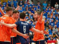 Volleyballers herstellen zich tegen Estland knap van lesje tegen Polen