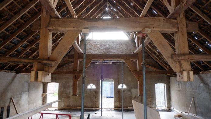 Beeld van de renovatie. Foto: Jan van den Brink