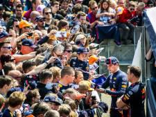 Verstappen over Max-gekte in Zandvoort: 'Dit gaat nooit wennen'