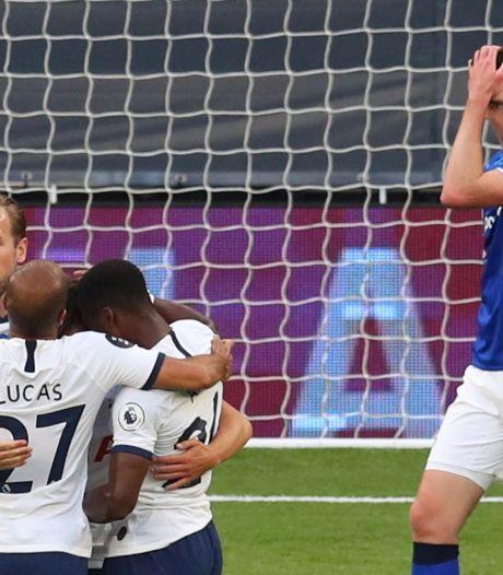 Avec Alderweireld et à peine Vertonghen, Tottenham bat Everton et remonte à la 8e place