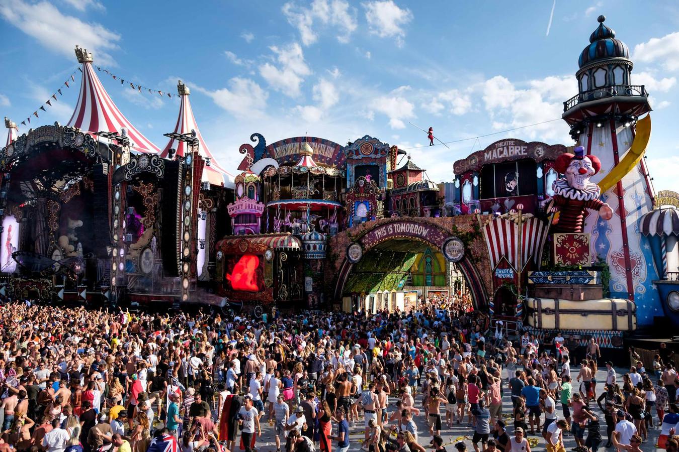 Tomorrowland vorig jaar. Ook de 14de editie wordt ongetwijfeld weer een feestje.