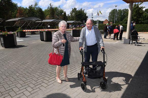Cella Vanhoeyveldt (78) en André Leblanc (79) moesten hun woning in de Tuinwijk in Haacht verlaten.