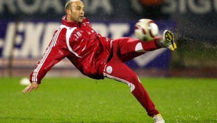 Gabri tijdens een training van Ajax. ANP Beeld