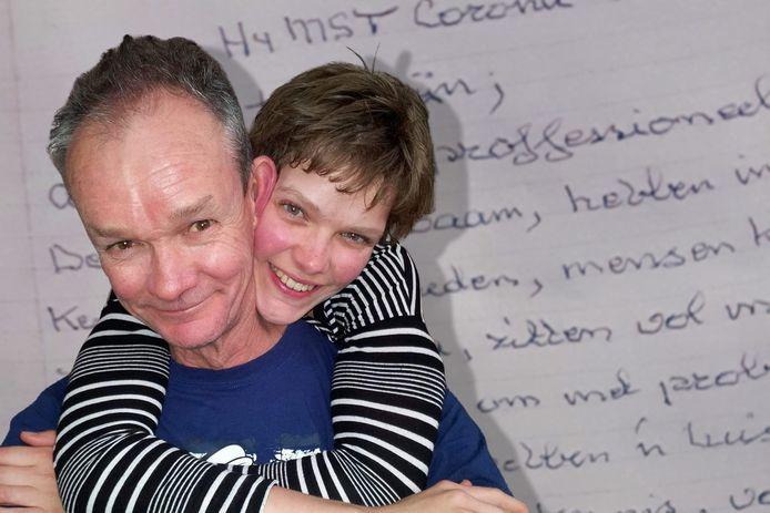 Petra omarmt haar vader Janssen: ,,Hij was een fantastisch mensenmens.''