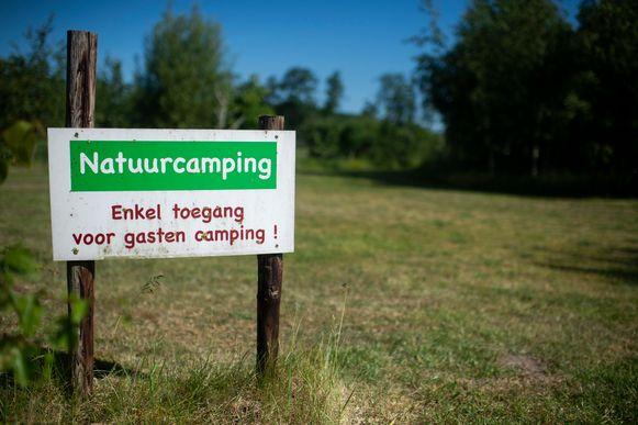 De privacy is honderd procent gegarandeerd op de naturistencamping Grensland in Nieuwmoer.