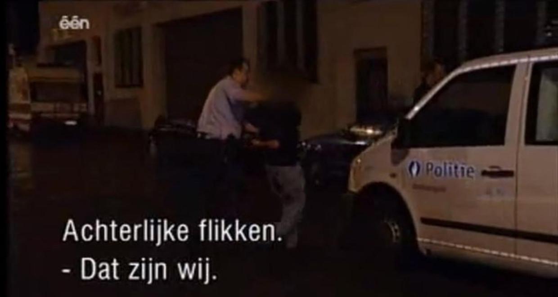 'Het leven zoals het is: de Antwerpse politie' Beeld Eén