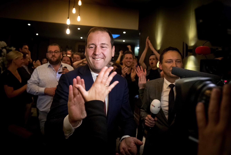 PvdA-leider Lodewijk Asscher gisteravond.