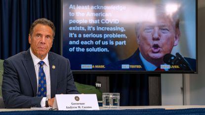 Opnieuw scherpe kritiek gouverneur New York op Trump om corona