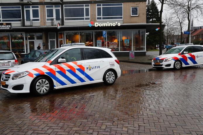 Steekpartij op het Karel de Groteplein (rotonde + plein in de Karel de Grotelaan) in Eindhoven.