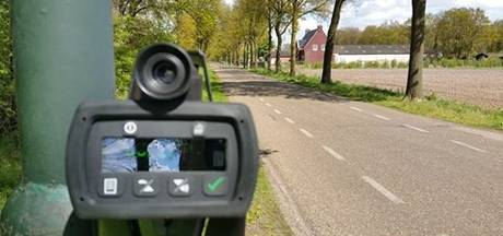 Bestuurder rijdt 74 kilometer per uur te hard in de polder
