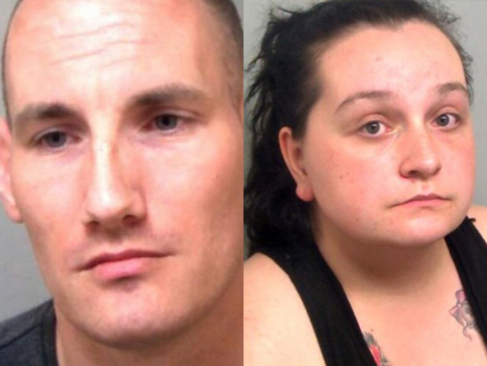 Mark Gable (33) en zijn 27-jarige vriendin Jessica Frey