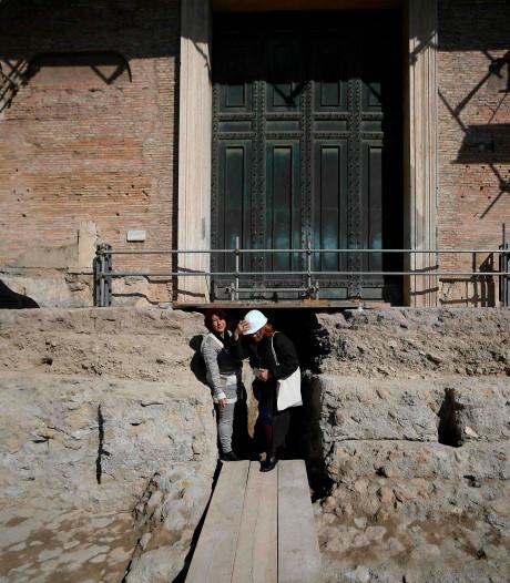 Spectaculaire archeologische vondst in Rome: tombe van Romulus