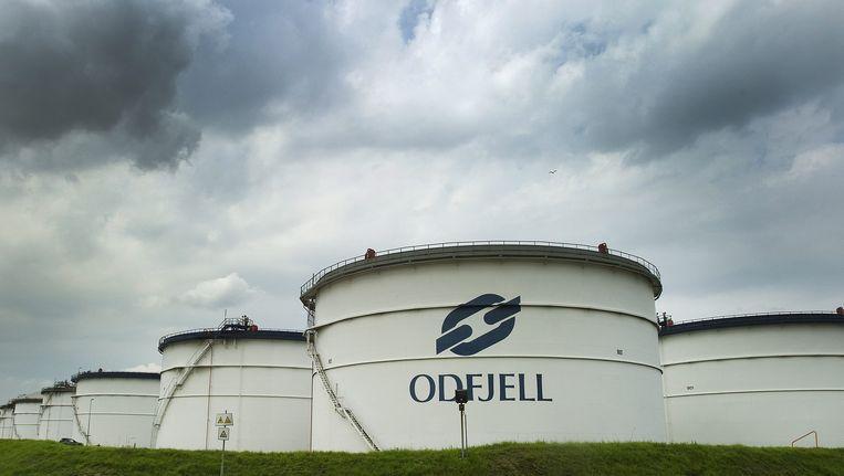 De Odfjell fabriek in Rotterdam Beeld EPA