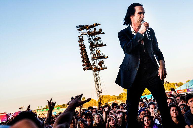 20180708 Werchter Belgium: Nick Cave and The Bad Seeds Beeld Stefaan Temmerman
