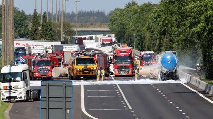Zwaar ongeval op E34: bestuurder (50) overleden, snelweg blijft tot morgenochtend afgesloten