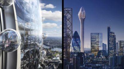 'De Tulp' moet met 305 meter de hoogste wolkenkrabber van Londen worden