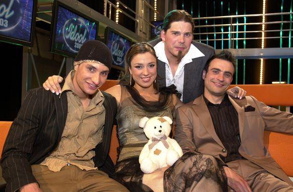 Peter, Natalia, Wim en Brahim.