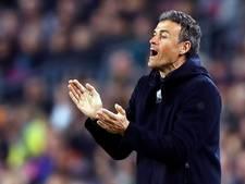 Barça staat pal achter Luis Enrique