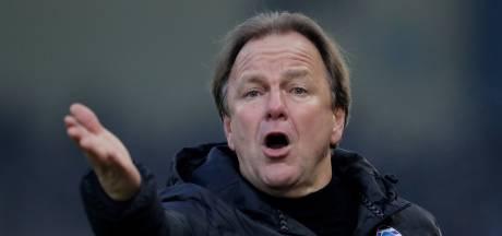 De Graafschap-trainer Snoei na nieuwe domper: 'Niet zien aankomen'