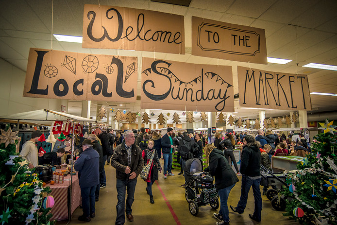 De Local Sunday Market ging in 2017 wel door. Die werd gehouden in de Performance Factory