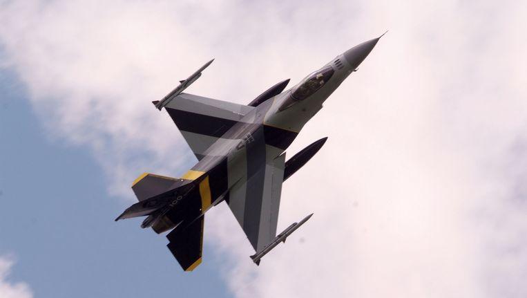 Archiefbeeld: In Jordanië ligt de basis van waaruit de Belgische F-16's ingezet worden in de strijd tegen ISIS in Syrië en Irak.