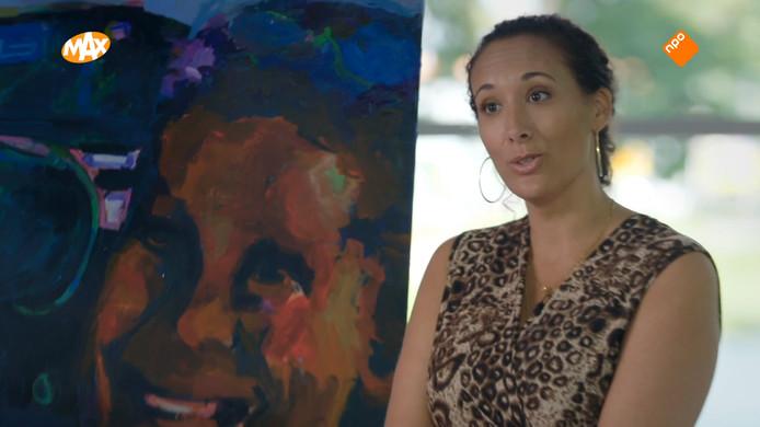 Kunstenares Gaïd Ombre snapt niet waarom ze als eerste afviel in Sterren op het Doek.