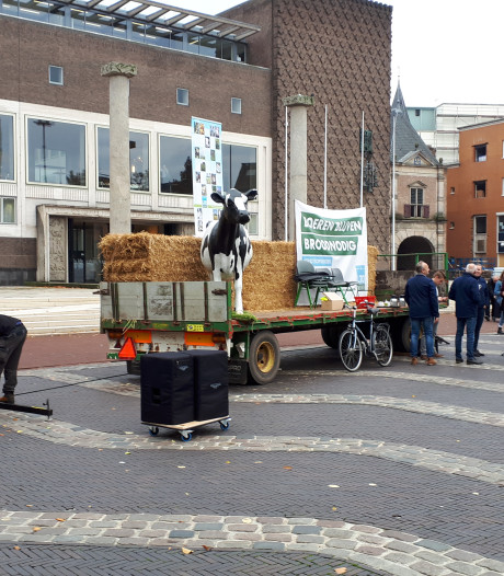 Boerenactie Arnhem wordt 'claxonorkest'