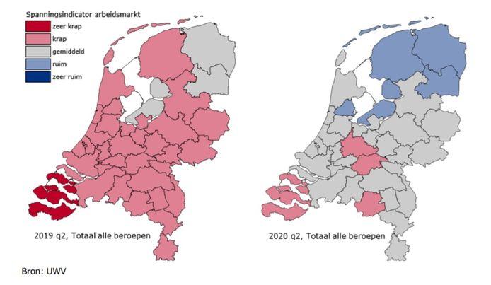 Arbeidsmarktkrapte in Nederland