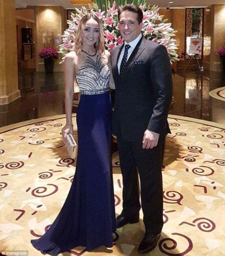 Alexander Johnson en zijn vrouw Luna. Dit rijke Amerikaanse koppel waren vlak voor haar dood nog samen met Ivana Smit.