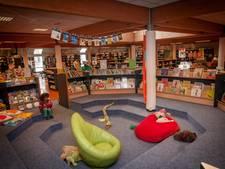 Boekverkoop in bibliotheek
