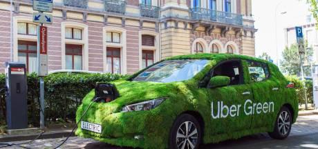 Uber-chauffeurs worden verplicht elektrisch te rijden