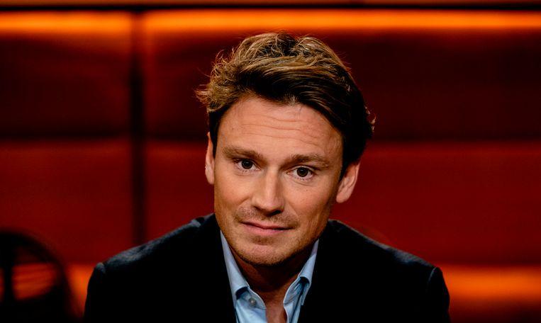 Sander Schimmelpenninck is, samen met Welmoed Sijtsma, presentator van Op1.  Beeld ANP Kippa