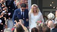 IN BEELD: zo trouwde Vanessa Paradis
