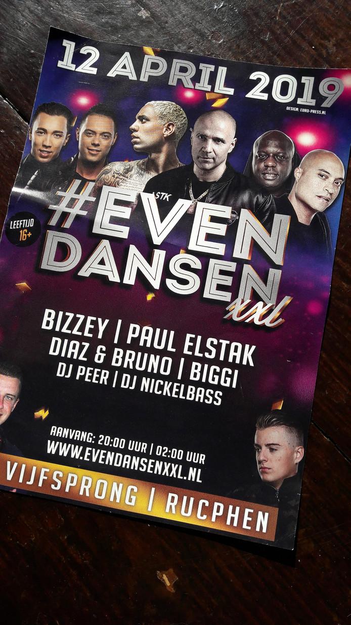 Een novum voor Berry Daamen in Rucphen: muziekevenement voor jongeren vanaf 16 in Rucphen op vrijdag 12 april.
