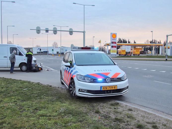 Ongeval in Bergen op Zoom.