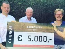 Jubilerend Brodshoes in Rijssen doneert 5.000 euro