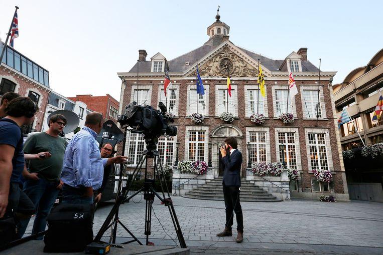 Het stadhuis in Hasselt.