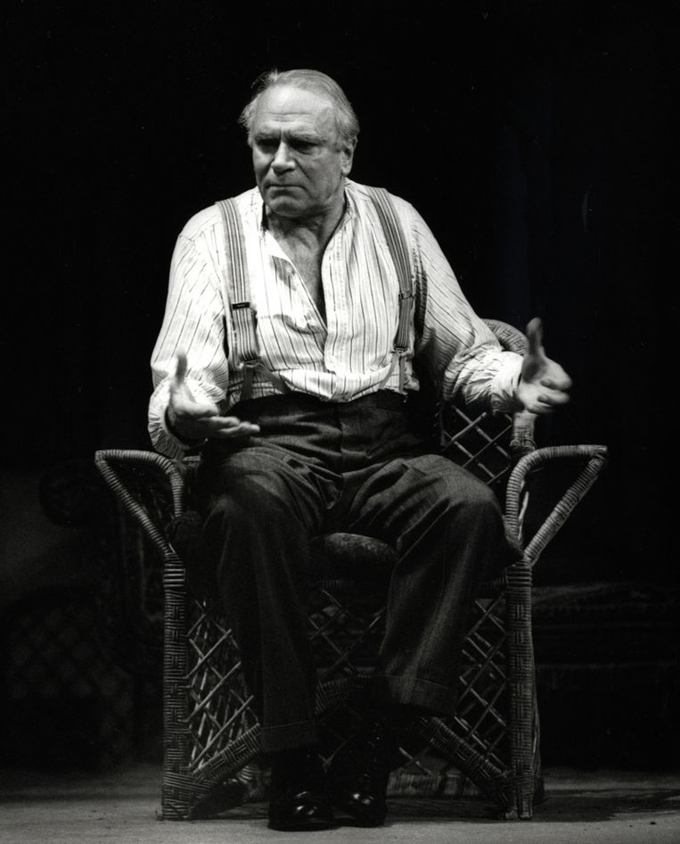 Theater: Laurence Olivier in Long Days Journey into the Night, 1971. Beeld  Zoë Dominic