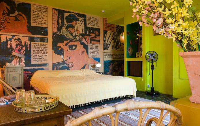 Hotelkamer van Hotel Bazar in Rotterdam