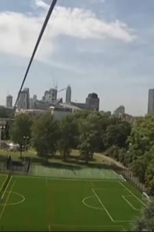 Uniek uitzicht over skyline Londen met ritje in zipline