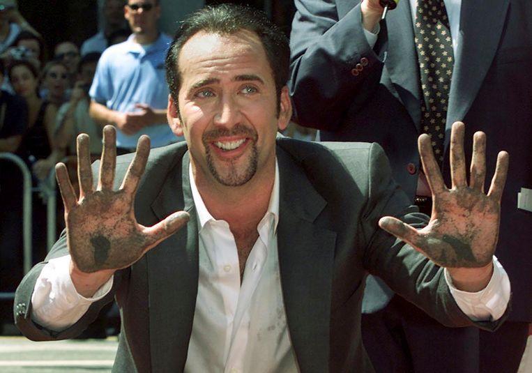 Nicholas Cage in 2001.
