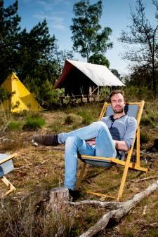 Bungalowpark Hoenderloo bouwt tijdelijke pop-up camping in de ongerepte natuur