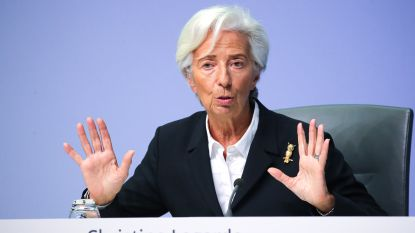 """Beleid ECB volgens Lagarde niet op automatische piloot: """"We volgen economische situatie op de voet"""""""