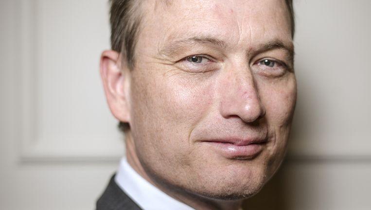 'We moeten ophouden met het opgeheven vingertje.' Halbe Zijlstra, fractievoorzitter van de VVD. Beeld Jiri Buller