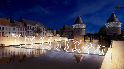 Kortrijk investeert 1 miljoen euro in 480.600 kerstlampjes:   hier ontdek je waar ze komen